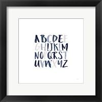 Framed Boy Upper Letters