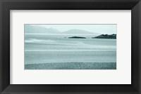 Framed Morar Sands in blue