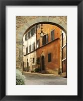 Framed Italian Town