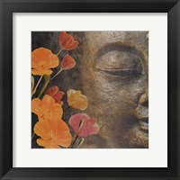 Framed Floral Zen 1