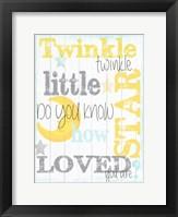 Framed Twinkle 1