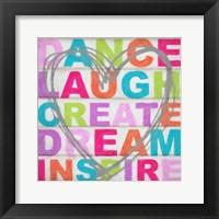 Framed Dance Laugh