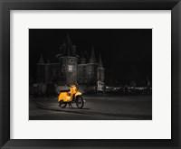 Framed Amsterdam Scooter