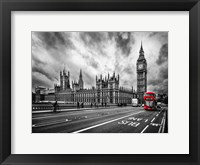 Framed London Doubledecker