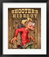 Framed Shooters Hideout