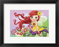 Framed Fairy on a Sheet