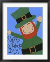 Framed Happy St. Patricks Day