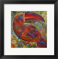 Framed Toucan Deco