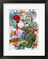 Framed Folk Dragon