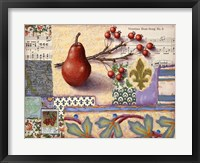 Framed Florentine Pear