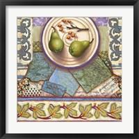 Framed Tuscan Pears