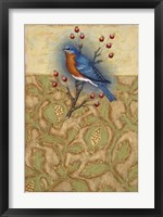 Framed Salt Meadow Bird
