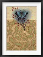 Framed Salt Meadow Butterfly