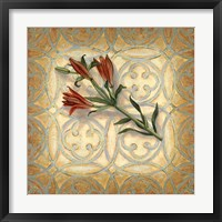 Framed Orange Lily
