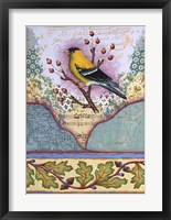 Framed Goldfinch
