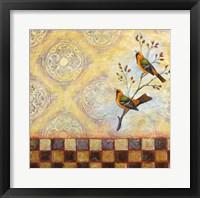 Framed Birds and Tiles