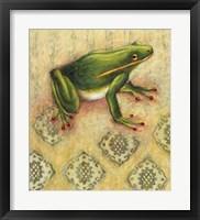 Framed Frog 3