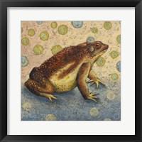 Framed Toad