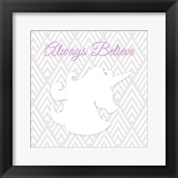 Framed Unicorn I