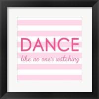 Framed Ballerina Dance