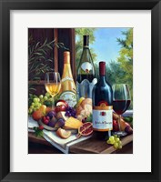 Framed Still Life with Wines