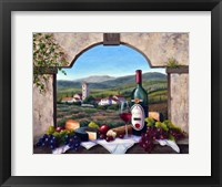Framed Tuscany Vista