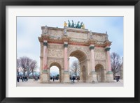 Framed Arc Triomphe Carrousel