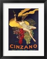 Cinzano Framed Print