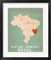 Framed Brazil