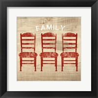 Framed Family Chairs