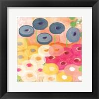 Framed Joyful Garden III
