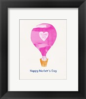 Framed Mother's Day Balloon