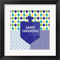 Framed Happy Hanukkah II