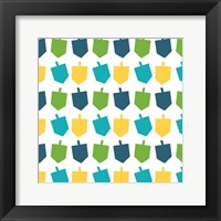 Framed Dreidel Pattern I