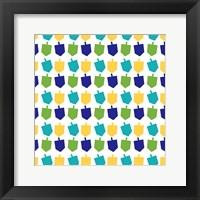 Framed Dreidel Pattern II