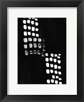 Framed Black and White Abstract