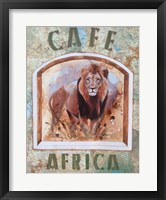 Framed Cafe Africa