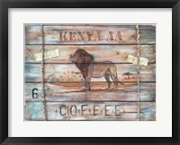 Framed Kenya AA Coffee