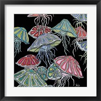 Framed Jelly Fish II
