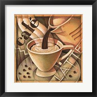 Framed Cappuccino & Cafe A