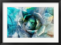 Framed Agave Abstract I