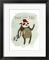 Framed Hipster Sloth I