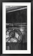 Framed Vintage Cockpit III