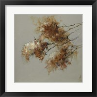 Framed Rusty Spring Blossoms II
