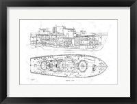 Framed Boat Blueprint 1