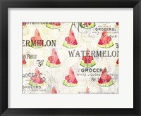 Framed Watermelon Summer 2