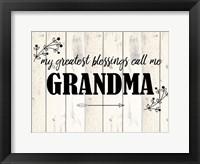 Framed Grandma