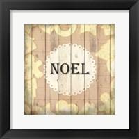 Framed Christmas Noel