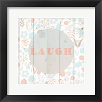Framed Spring Laugh