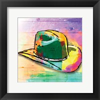 Framed Colorful Hat